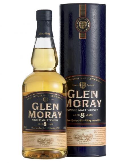 Glen Moray  8 ans Ecosse / Speyside Single Malt  40ø