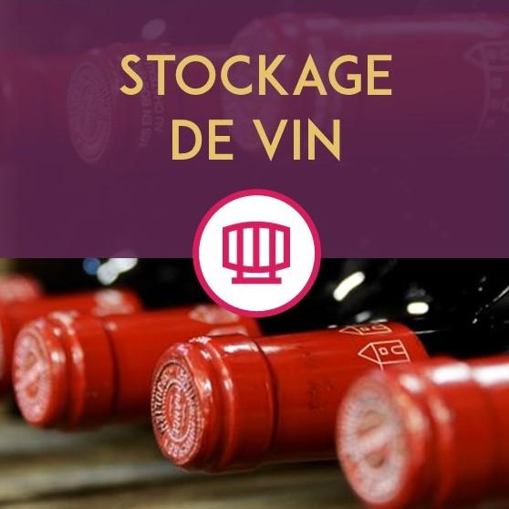 Stockage de vin