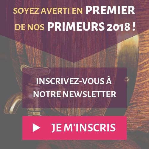 Newsletter primeurs