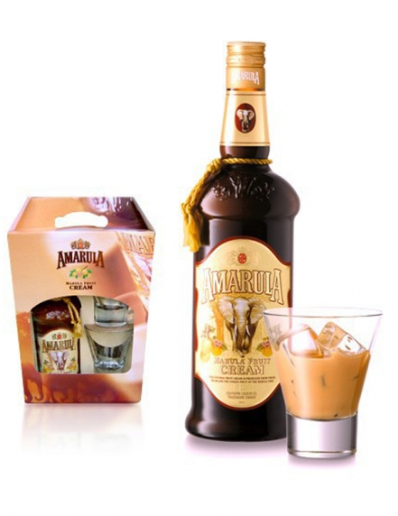 Amarula Fruit Cream + 2 Verres