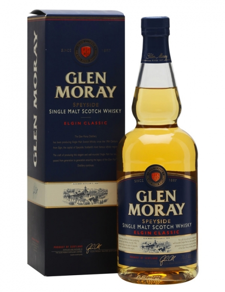 Glen Moray Classic Ecosse / Speyside Single Malt 40ø