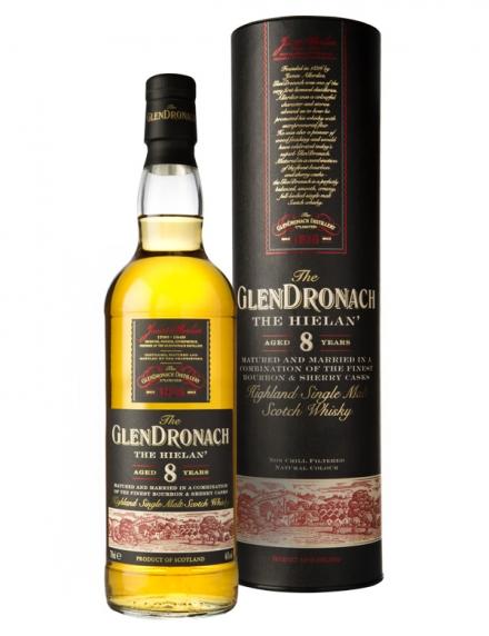 Glendronach 8 ans Ecosse / Highlands Single Malt 46°