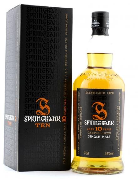 Springbank 10 ans Ecosse / Campbeltown Single Malt 46°