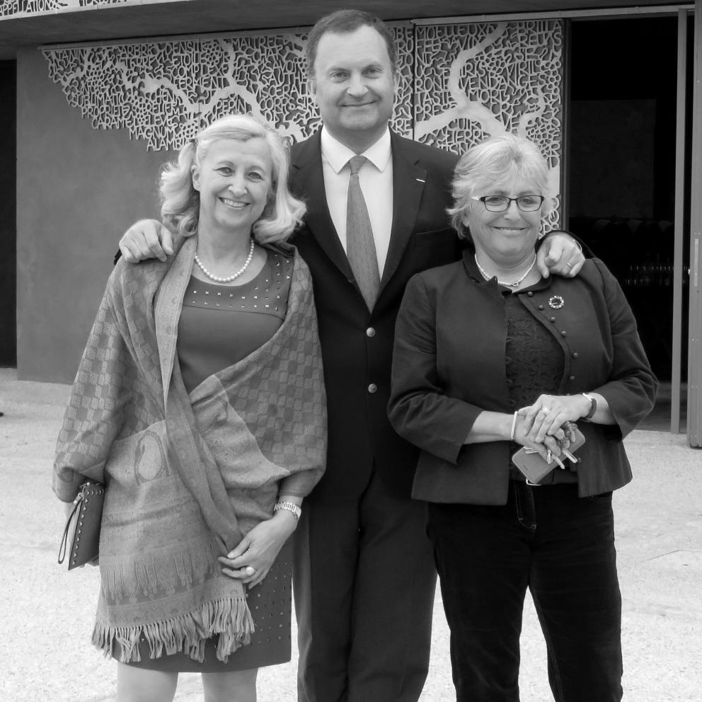 Nathalie, Sophie et Yann Schÿler